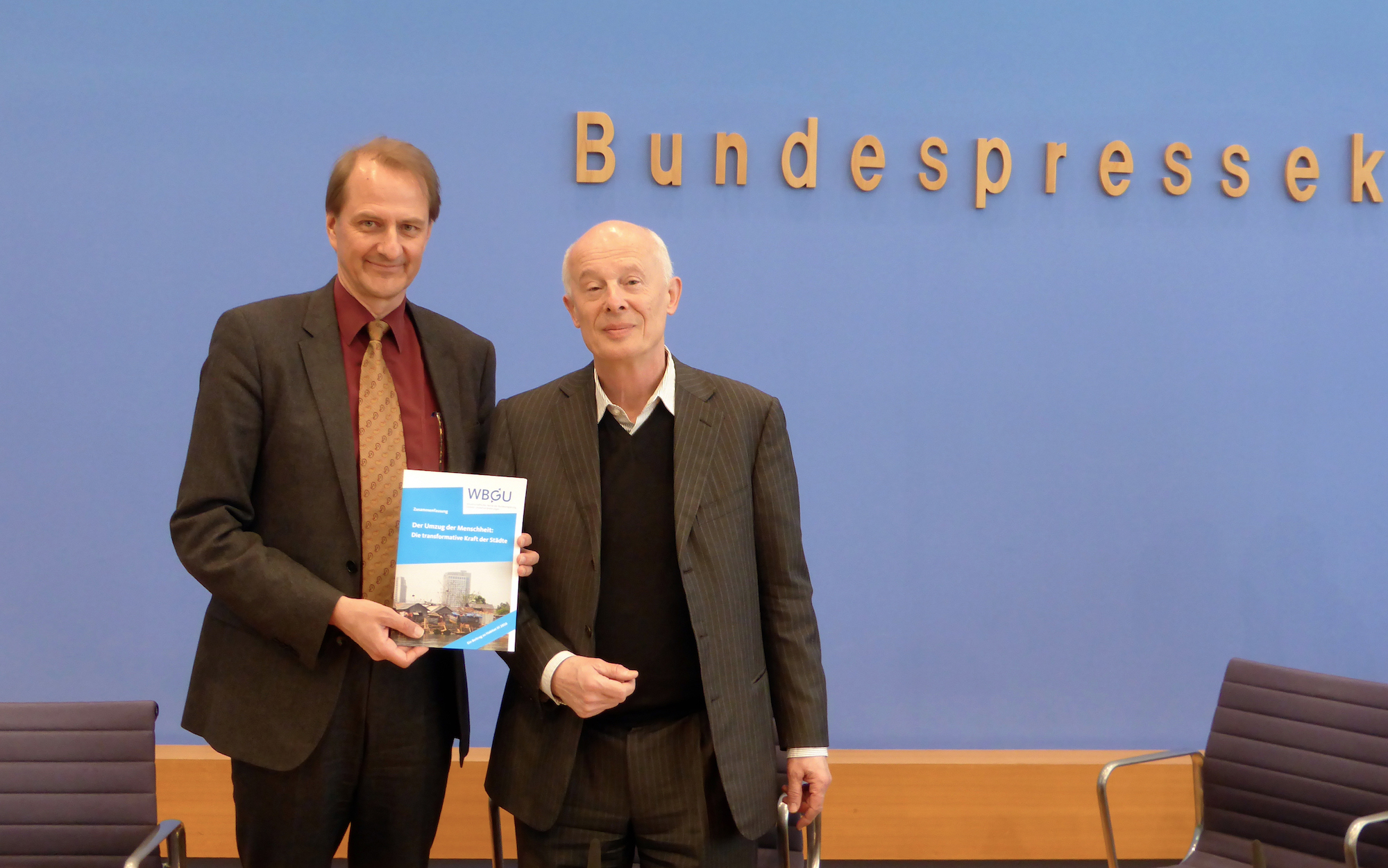 "Presentation of the report ""Humanity on the move: Unlocking the transformative power of cities""."