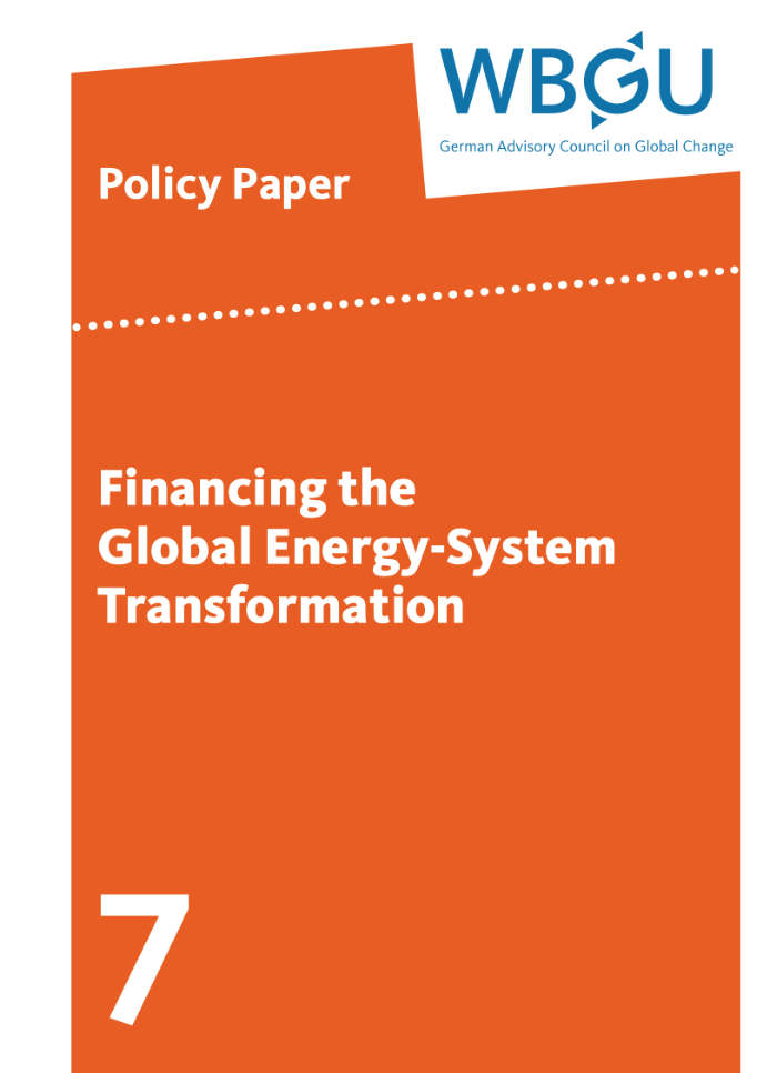 Financing the Global Energy-System Transformation