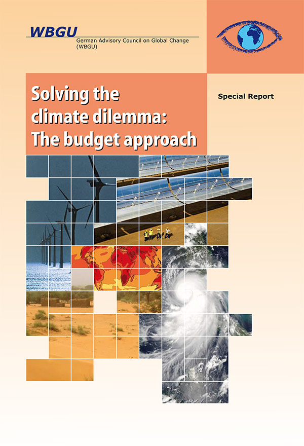 Solving the climate dilemma: The budget approach
